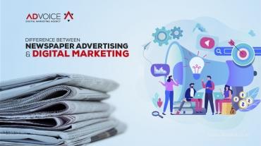 Digital Marketing vs. Newspaper Ads