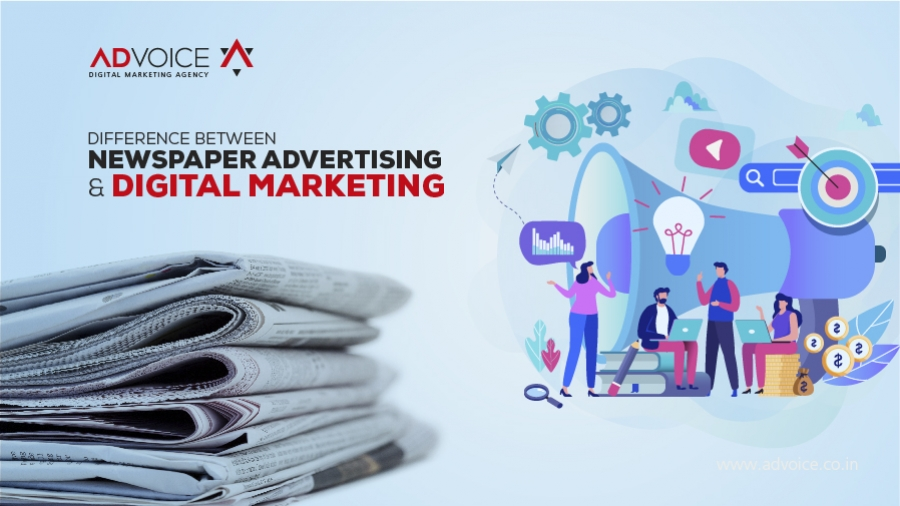 Digital Marketing vs. Newspaper Ads