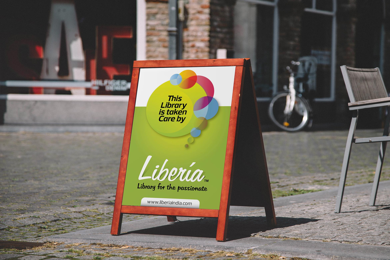 liberia standee design