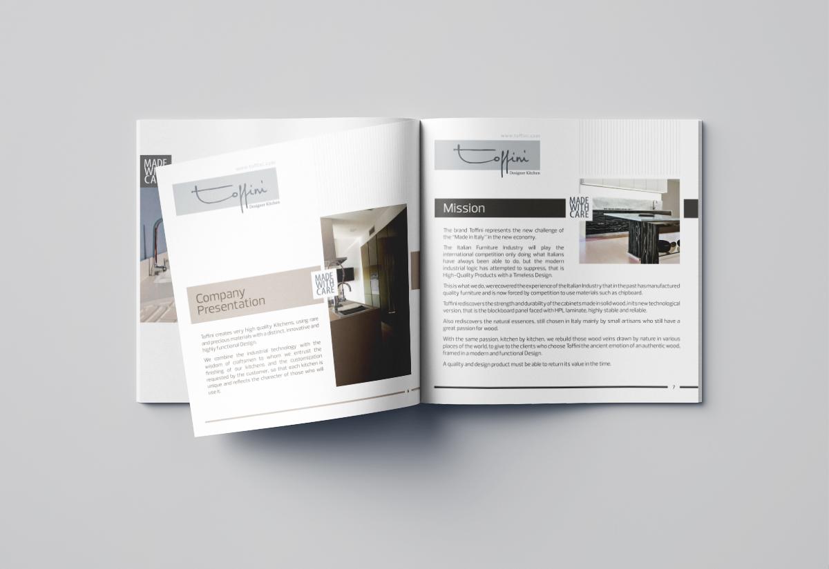 Toffini Brochure Designe of Designer Kitchen 04