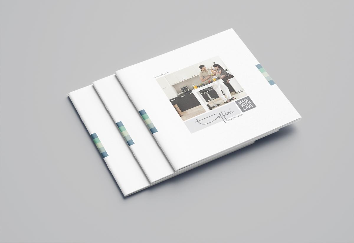 Toffini Brochure Designe of Designer Kitchen 01