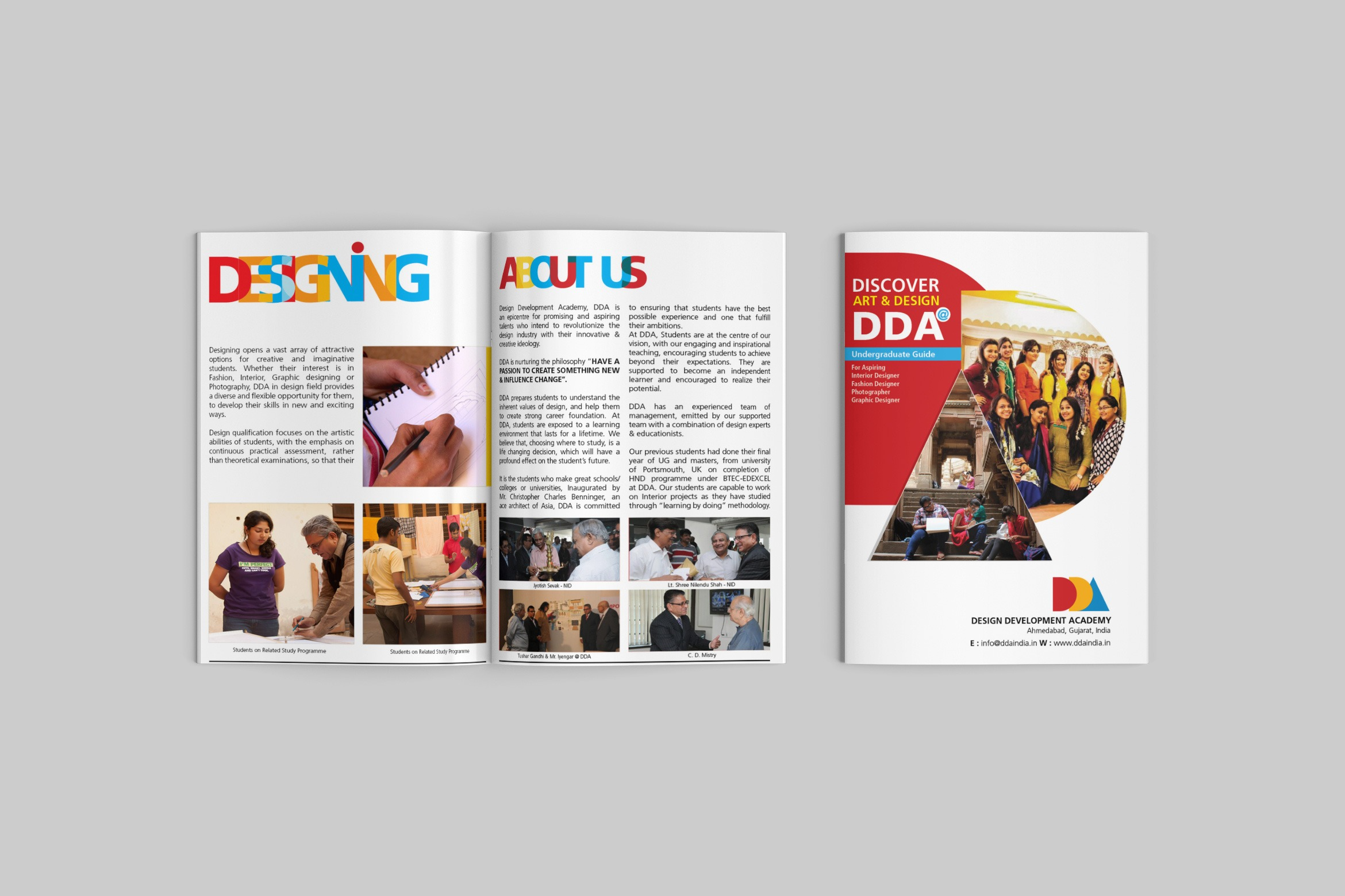 dda brochure design