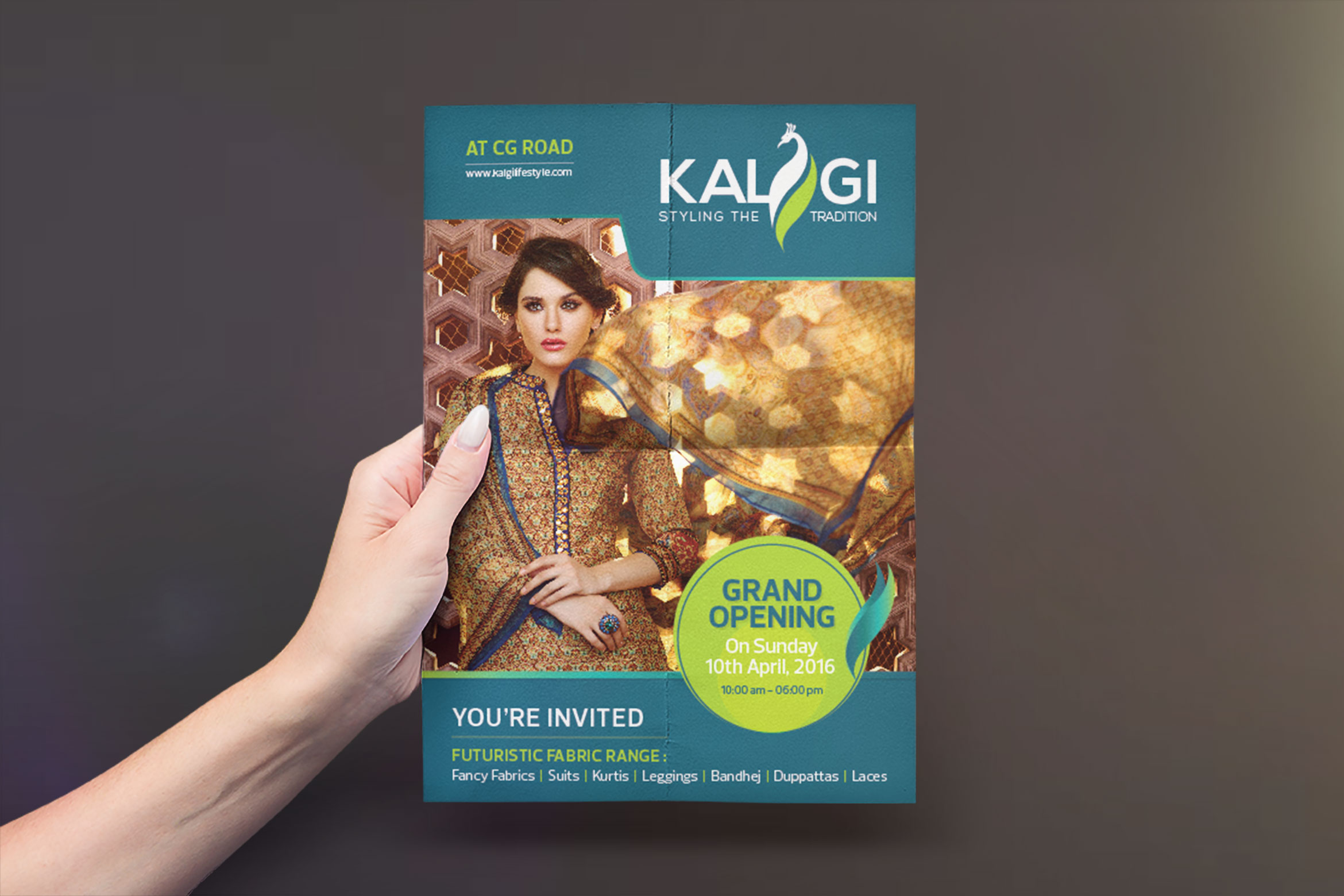 kalgi-flyer-design