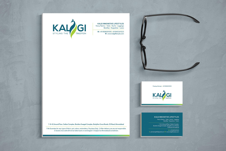 Kalgi Lifestyle - Logo & Branding Design 1 kalgi stationary