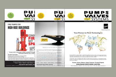 pump magazine design