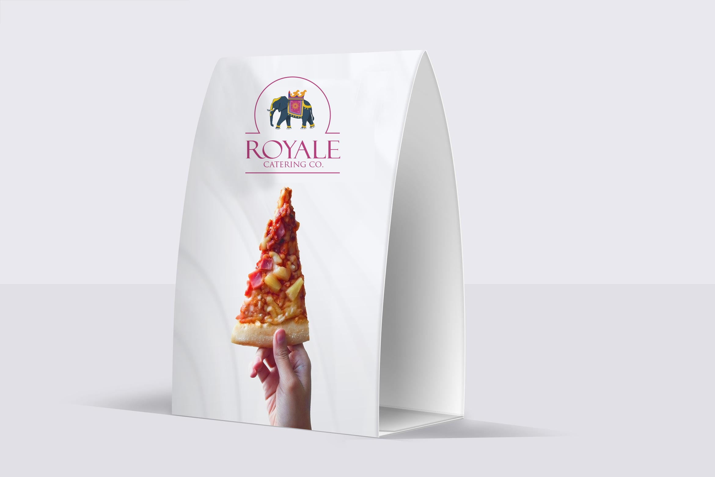 royal catering design