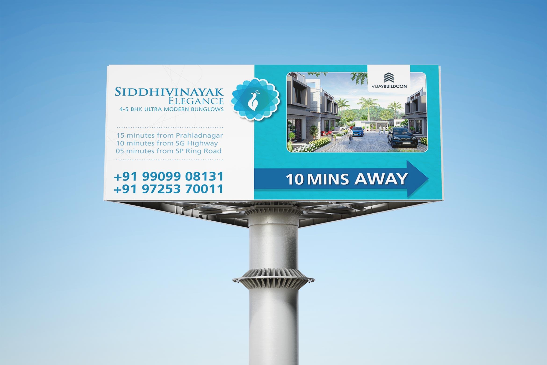 Siddhivinayak Elegance Hoarding Design