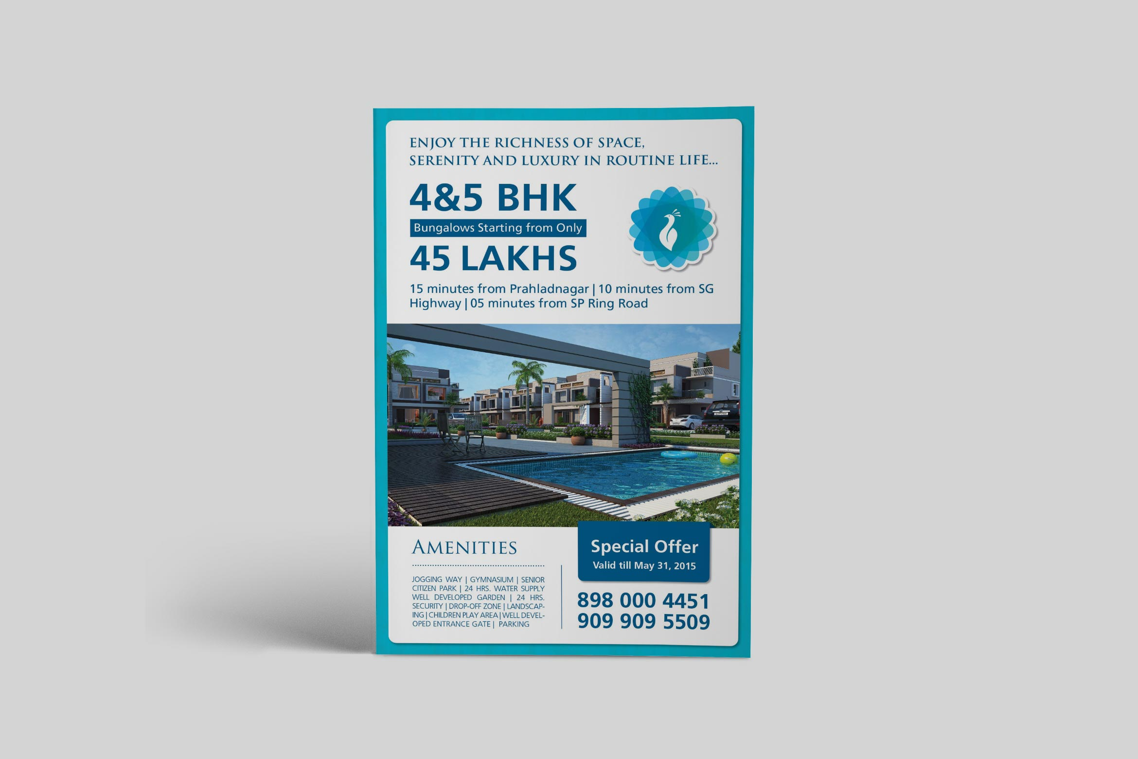 Siddhivinayak Elegance Flyer Design