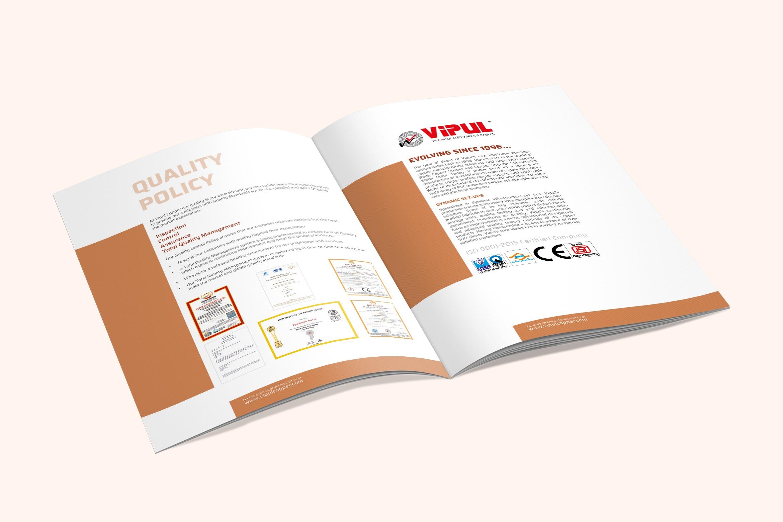 Vipul Copper Brochure Design