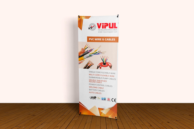 Vipul Copper Standee Design