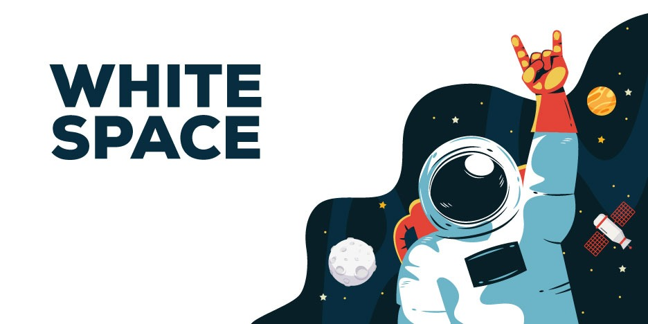 white-space advoice design